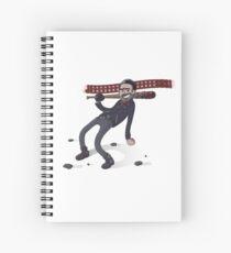 Negan Spiral Notebook