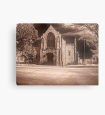 creepy church Metal Print