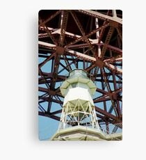 Fort Point Lighthouse > Canvas Print