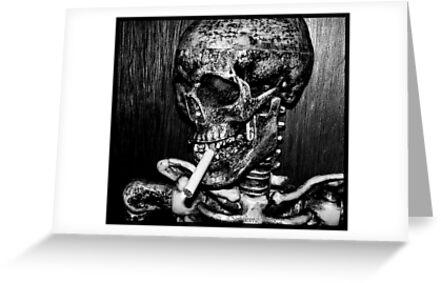 smoking kills... by Cheryl Dunning