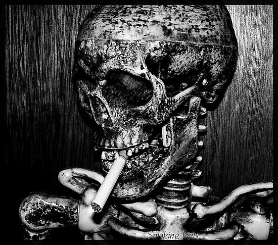 smoking kills... by Cheryl Dunning
