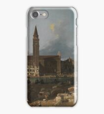 Canaletto - The Stonemasons Yard iPhone Case/Skin