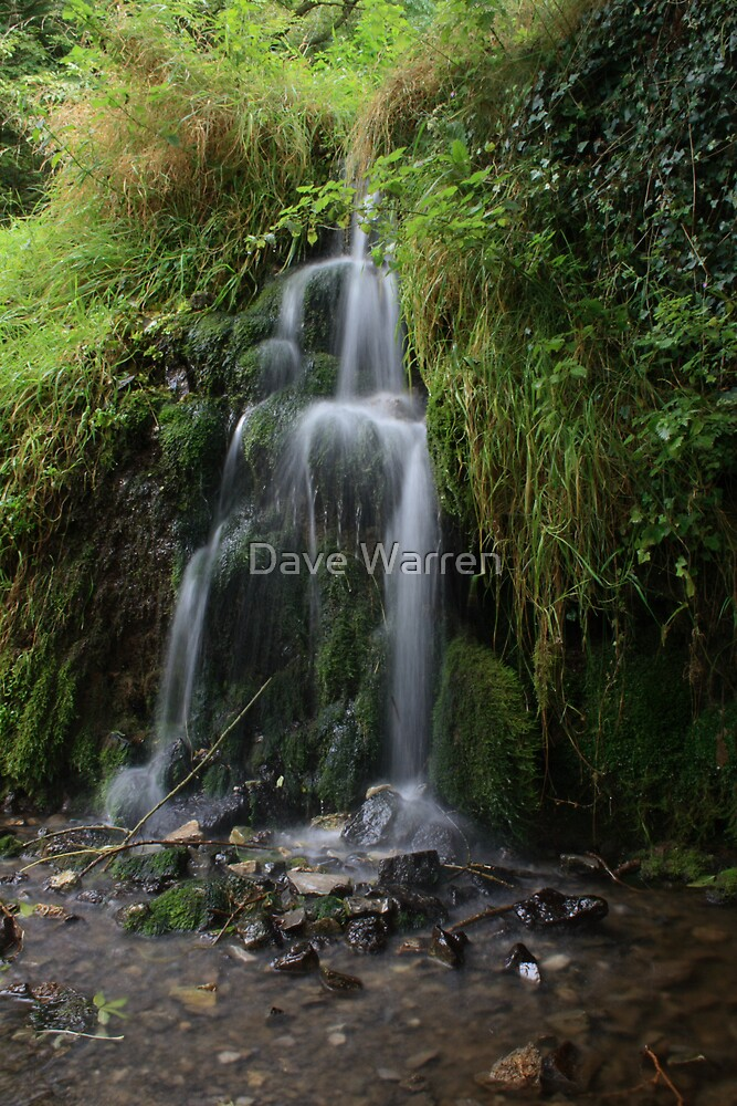 Lathkill Falls 2 by Dave Warren