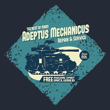Adeptus Mechanicus - Predator by moombax