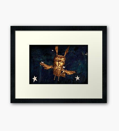 The Golden Bird Framed Print