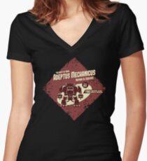Adeptus Mechanicus - Baal Dreadnaught Women's Fitted V-Neck T-Shirt