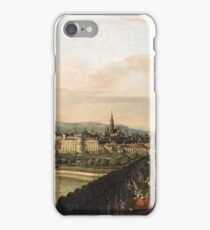 Canaletto - Vienna Viewed From The Belvedere Palace 1759  iPhone Case/Skin