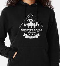 Visit Gravity Falls, Oregon! Lightweight Hoodie