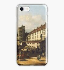 Canaletto - Vienna, Dominican Church 1759  iPhone Case/Skin