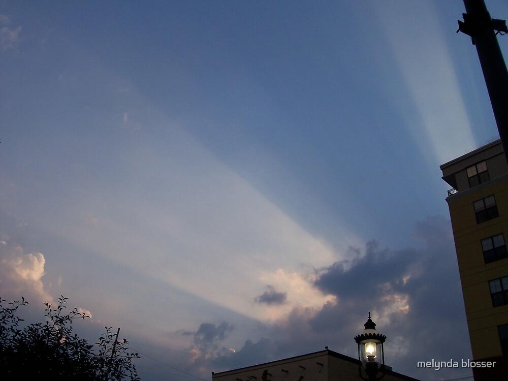 heavens rays by melynda blosser