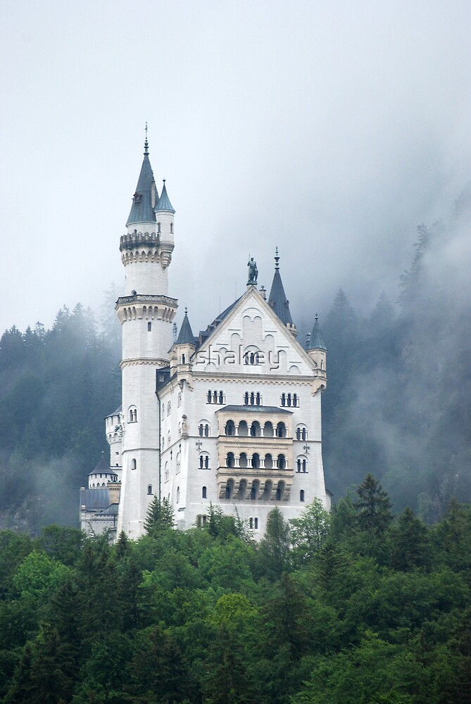 Castle in the mist 3 by shakey