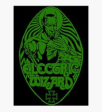 Electric Wizard - Lucifer (Green) Photographic Print