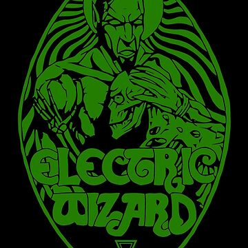 Electric Wizard - Lucifer (Green) by lnfernum