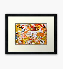 Psychedelic Coloration Framed Print