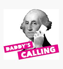 Daddy's calling  Photographic Print