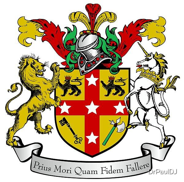 Personal Coat of Arms by DrPaulDJ