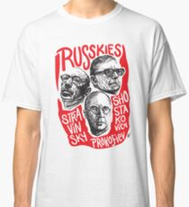 Ruskies-Russian Composerss Classic T-Shirt