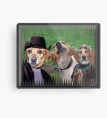 Dogs Are People Too! Metal Print