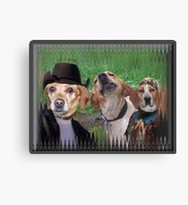 Dogs Are People Too! Canvas Print