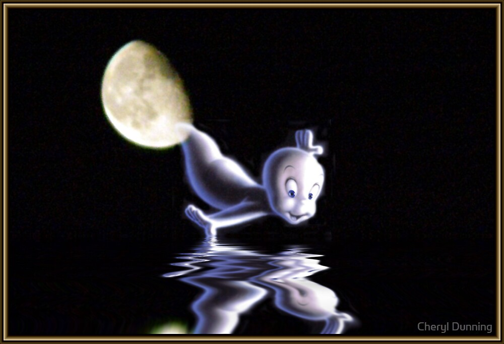Casper arrives by Cheryl Dunning