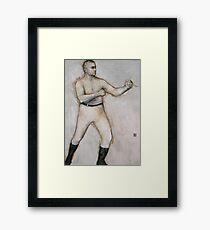 The Boxer: John L. Sullivan Framed Print