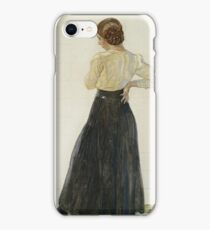 Carl Larsson - Brita iPhone Case/Skin