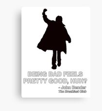 JOHN BENDER - THE BREAKFAST CLUB Canvas Print