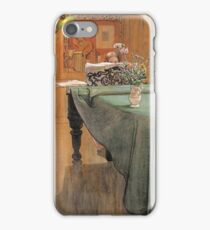 Carl Larsson - Young Girl At A Grand Piano iPhone Case/Skin