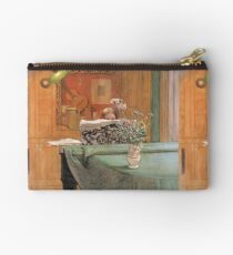 Carl Larsson - Young Girl At A Grand Piano Studio Pouch