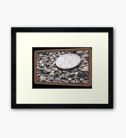 All Day Long, You`ll have Good Luck! Framed Print