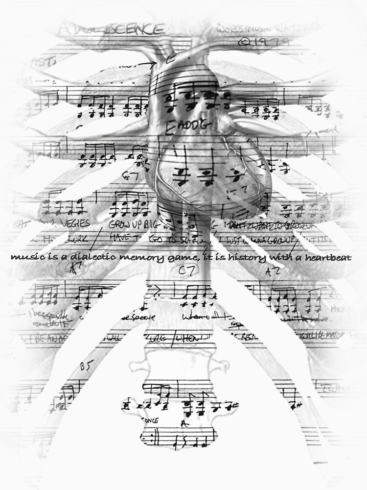 Music is a dialectic Memory game; It is History with a Heartbeat by LucanIndustries