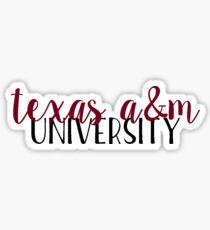 Texas A&M - Style 2 Sticker
