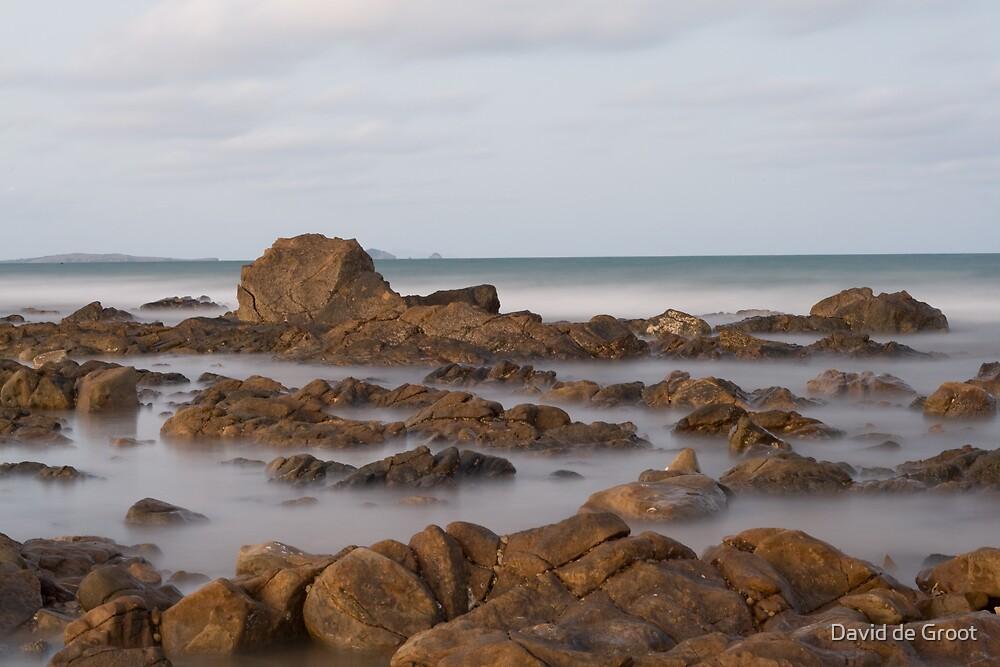 Rocks amidst the Mist by David de Groot