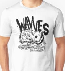Wavves Cynical Cats Unisex T-Shirt