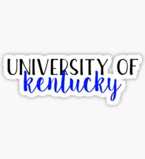 University of Kentucky - Style 2 Sticker