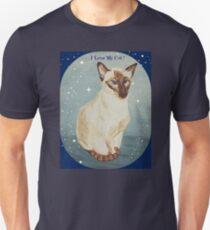 Siamese Cat 01 Unisex T-Shirt