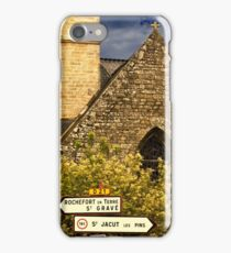 Divine Directions... L'Egilse de Malansac  iPhone Case/Skin