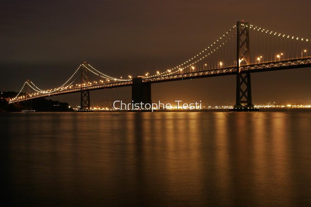 Bay Bridge by Christophe Testi