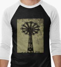 Bare Bones Parachute Men's Baseball ¾ T-Shirt