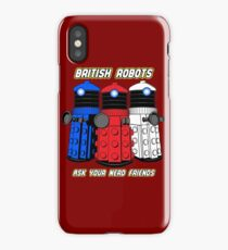 British Robots iPhone Case/Skin