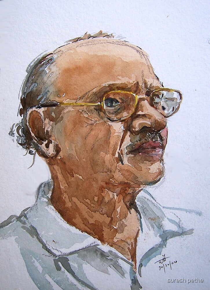 Another portrait by suresh pethe
