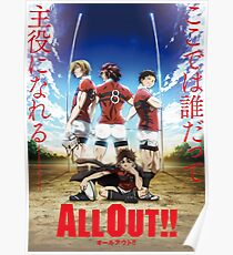 All Out! Poster