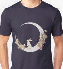 Camiseta ajustada Moon Rabbit