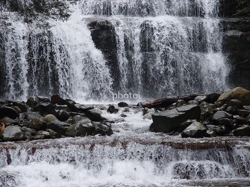 photoj-Tasmania,Waterfull by photoj
