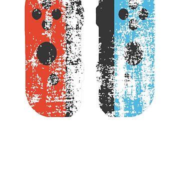 Nintendo Switch Distressed Joy Cons by MattsStuff