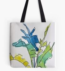 Tropical Spring Leaves Tote Bag