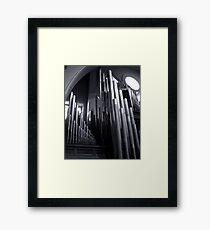 Pipes Framed Print