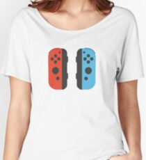 Nintendo Switch Joy Cons Women's Relaxed Fit T-Shirt