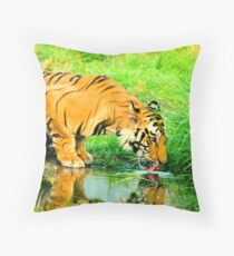 Hot and Thristy Throw Pillow