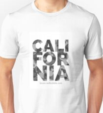 CALIFORNIA | Camo | Gray Unisex T-Shirt